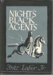 Nights Black Agents Arkham House HB