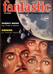 Deadly Moon - Fantastic, Nov 1960 Alex Schomburg