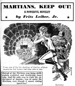 Martians, Keep OutFuture SF July 1950Milton Luros