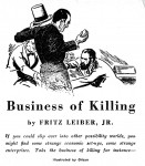 Business of Killing - Astounding Sept 1944 Paul Orban