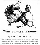 Wanted an Enemy - Astounding Feb 1945 Williams